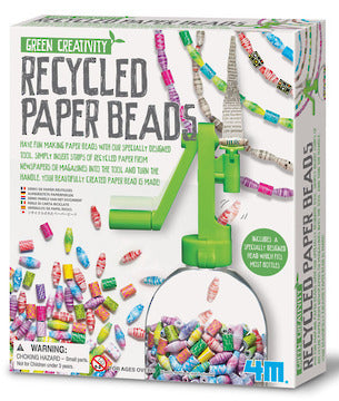 4M: Green Creativity Recycled Paper Beads