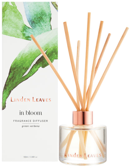 Linden Leaves Fragrance Diffuser - Green Verbena