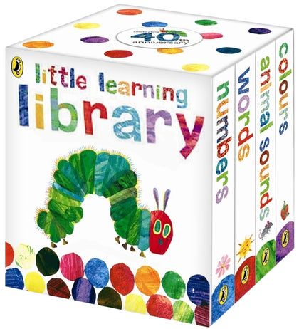 The Very Hungry Caterpillar Little Learning Library Boxed Set