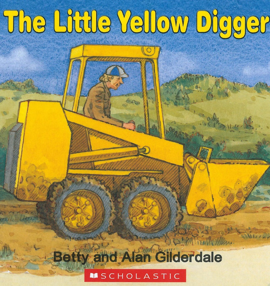The Little Yellow Digger Book