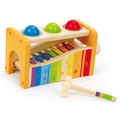 Hape: Wooden Pound and Tap Bench