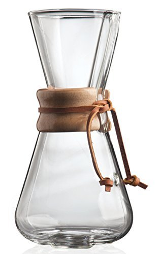 Chemex: 3-Cup Classic Glass Coffee Maker