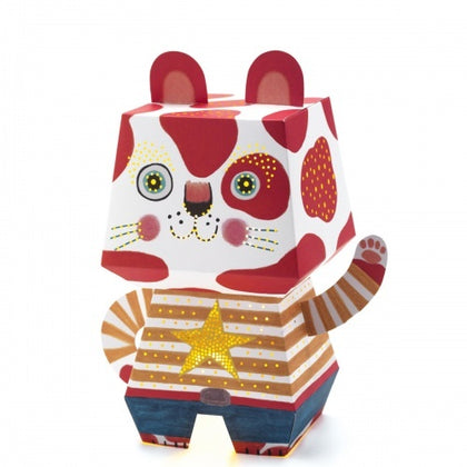 Djeco: Mini Night Light Arty Cat