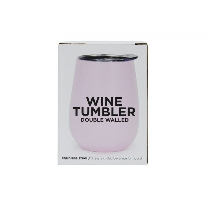 Annabel Trends Wine Tumbler - Pink