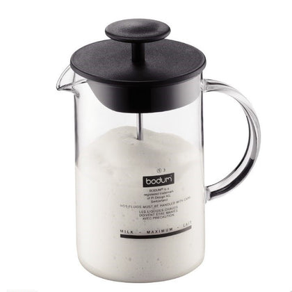 Bodum: Latteo Milk Frother with Glass Handle (250ml)