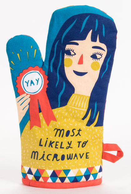 Blue Q: Oven Mitt - Most Likely To Microwave