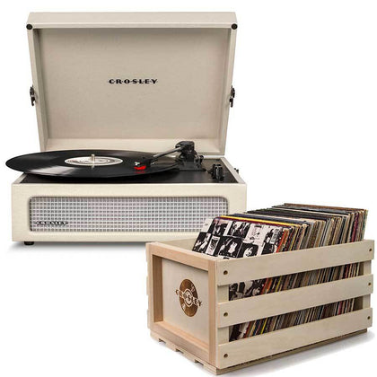 Crosley: Voyager Portable Turntable - Dune