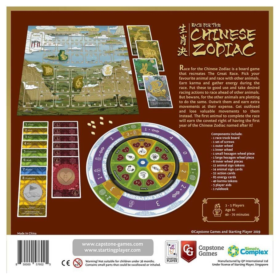 Race for the Chinese Zodiac - Board Game