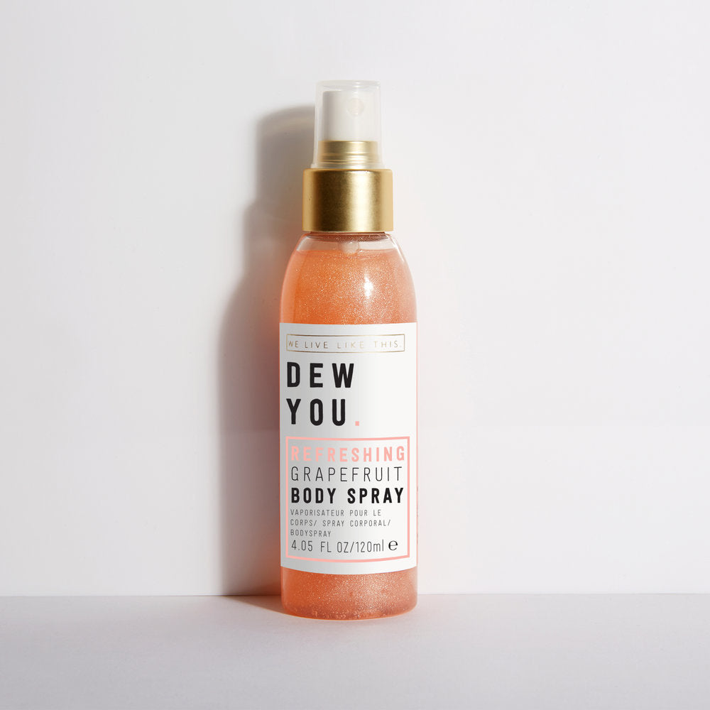 We Live Like This: Dew You Refreshing Body Spray - Grapefruit (120ml)