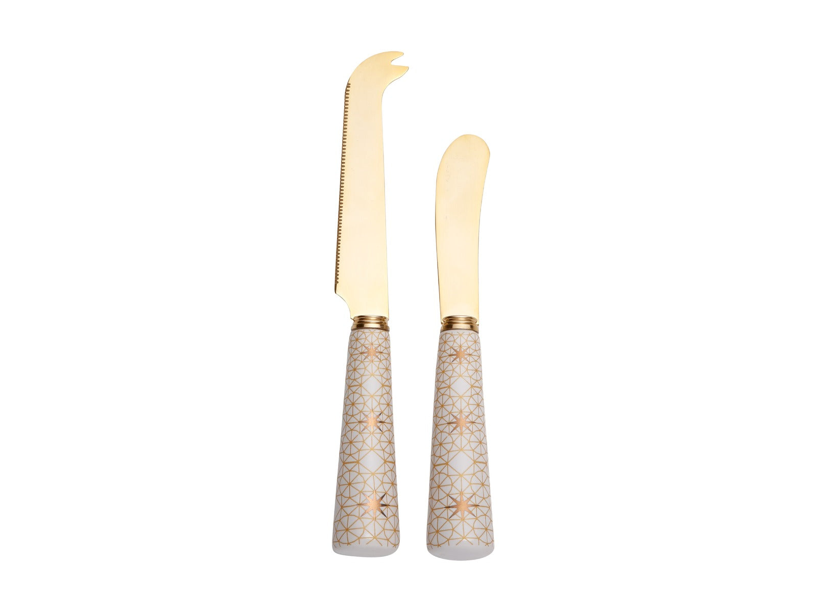 Maxwell & Williams: Starry Night Spreader & Cheese Knife Set