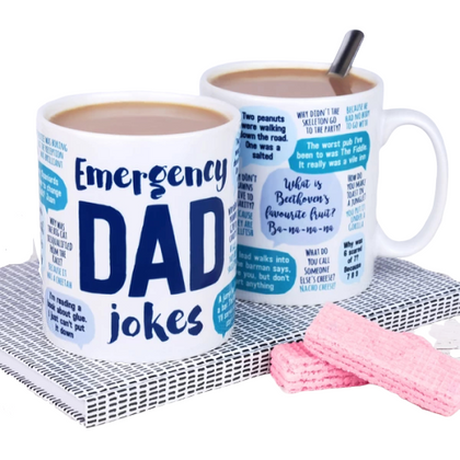 Emergency Dad Jokes Mug