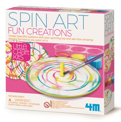 4M: Little Craft - Spin Art Fun Creations