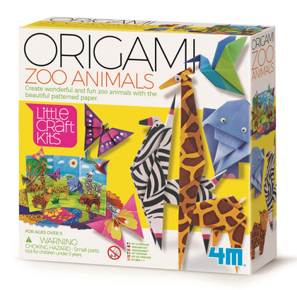 4M: Little Craft - Origami Zoo Animals Kit
