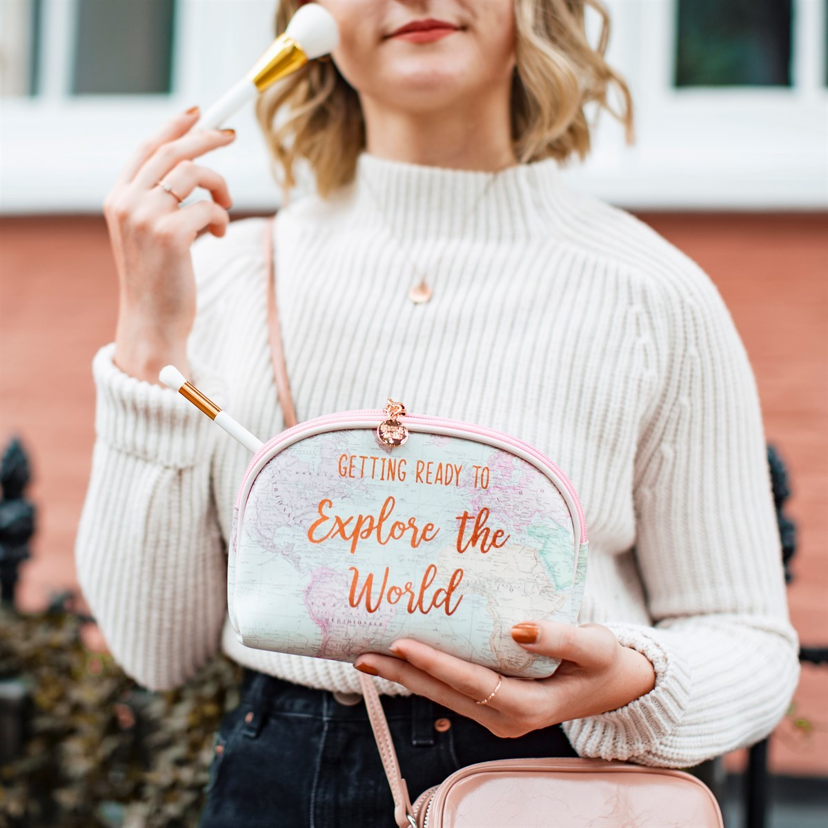 Sass & Belle: World Explorer Cosmetic Bag