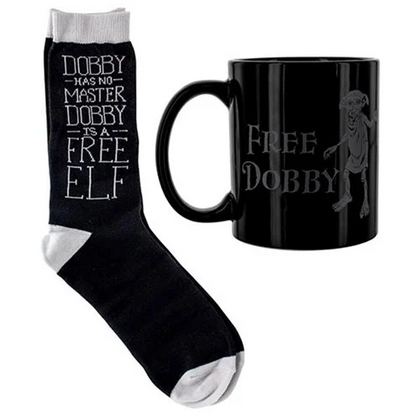 Harry Potter: Free Dobby - Mug & Sock Gift Set