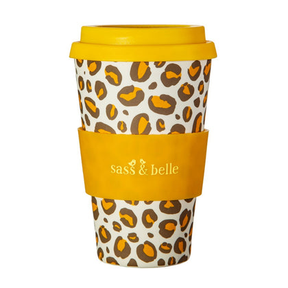 Sass & Belle: Leopard Love Bamboo Coffee Cup