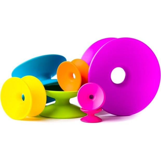 Fat Brain Toys: Spoolz - Colourful Stacking Toy