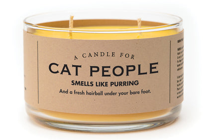 Whiskey River Co: A Candle For Cat People