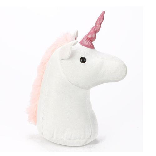 Unicorn Plush Standing Doorstop