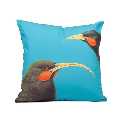 100 Percent NZ: Bright Huia Cushion Cover