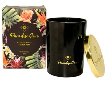 Paradise Cove: Candle - Passionfruit & French Pear