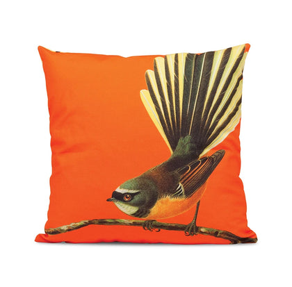 100 Percent NZ: Bright Fantail Cushion Cover