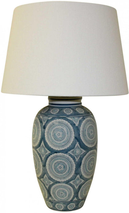 Lavida: Lamp - Blue Circles