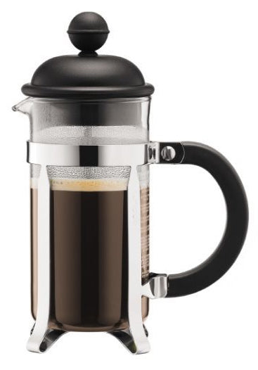 Bodum: Caffettiera French Press Coffee Maker (3 Cup) - With Plastic Lid (0.35L)