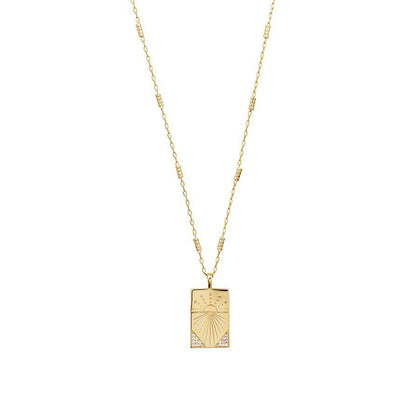Wanderlust + Co: Today Gold Necklace