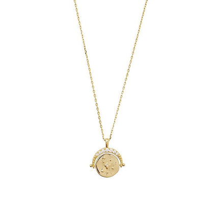 Wanderlust + Co: Universe Gold Necklace