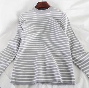 Moonlight Drive Striped Pullover