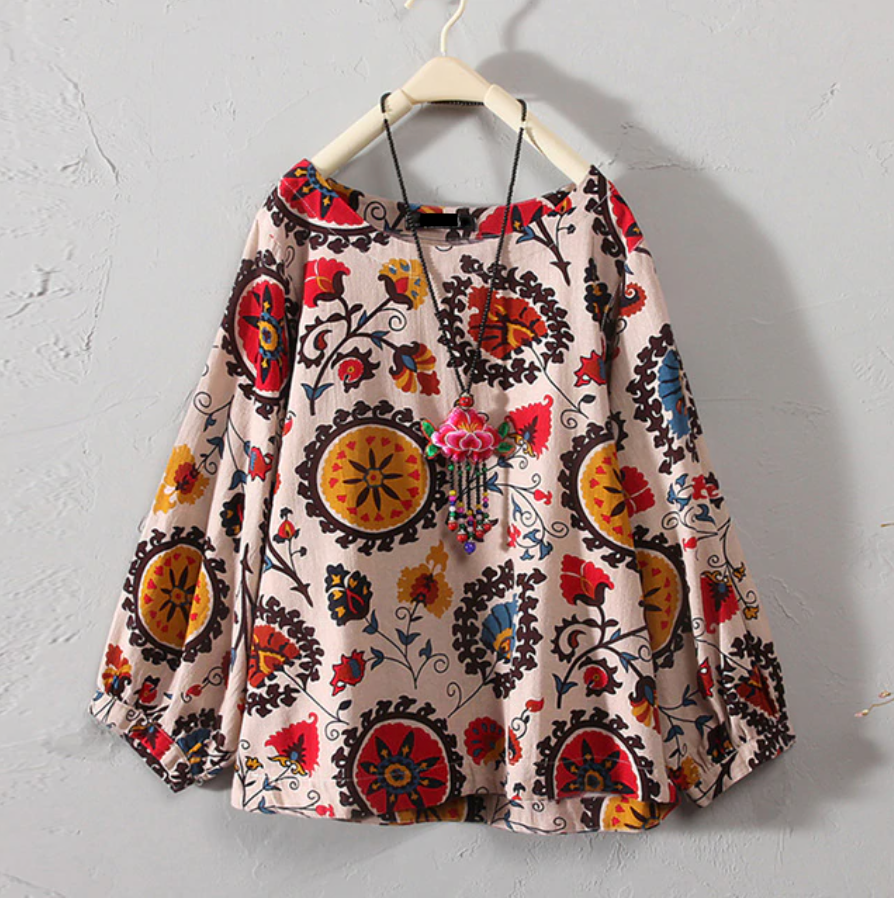 Ozma of Oz Floral Tunic