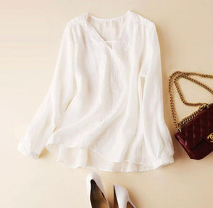 Simply Neutral Blouse