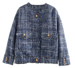 Winter Starlight Tweed Coat