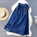 A Denim World Skirt