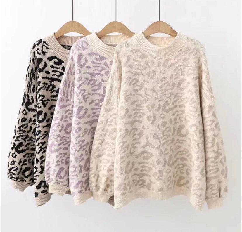 Hear Me Roar Printed Sweater