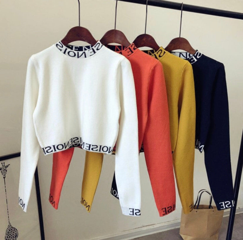 Euphoria Cropped Pullover