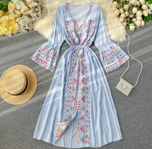 Lovely Day Long-Sleeved Dress
