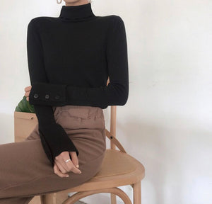 Neutrally Natural Turtleneck