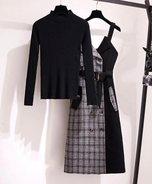 Runway Ready Sweater and Dress Set