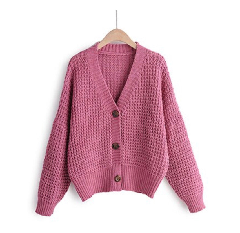 Knitted Smile Cardigan