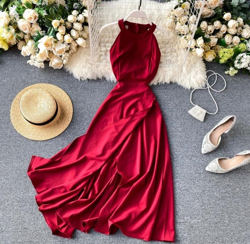 Wrapped Beauty Sleeveless Dress