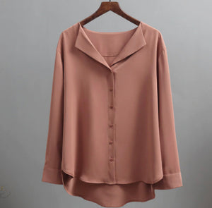 Silky Enchantment Blouse