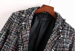 Stargazing Lapel Coat
