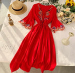 Eternal Beauty Embroidered Dress