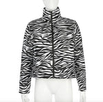 Zebra Printed Jacket