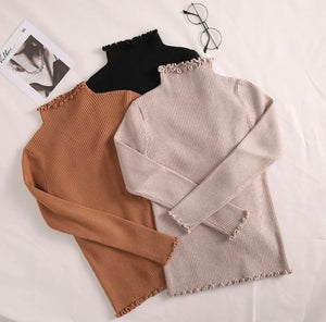 Naturally Neutral Turtleneck Pullover