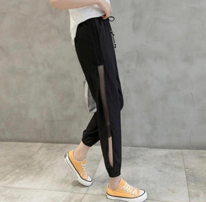 Meshed Up Trousers