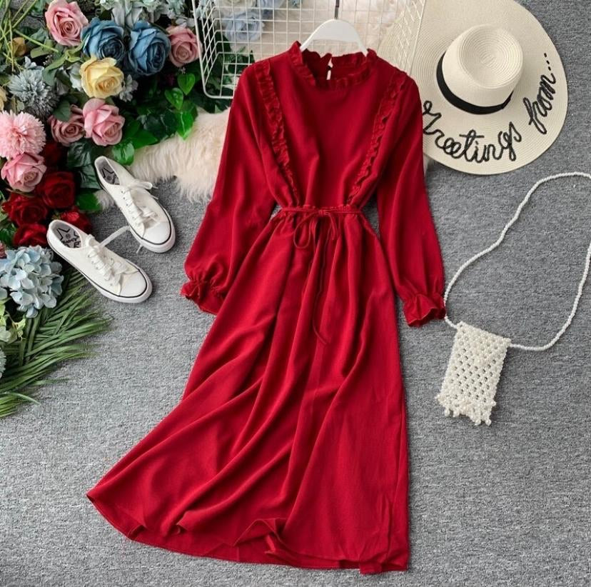 Ever-Lasting Glory Long-Sleeved Dress