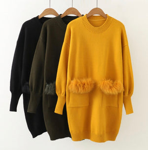 Fuzzy Love Oversized Sweater
